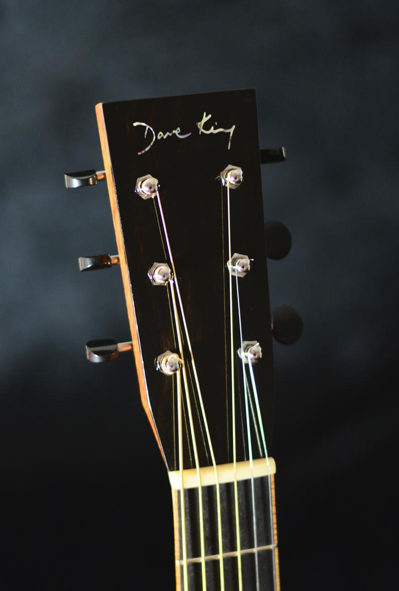 African Blackwood and Engleman 000 guitar